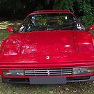 Red Ferrari Spots Car by Dawnsuzanne