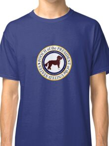 Pooch of the presidential seal geek funny nerd Classic T-Shirt
