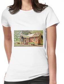 the lodge Womens Fitted T-Shirt