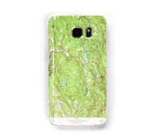Massachusetts  USGS Historical Topo Map MA Goshen 350978 1972 25000 Samsung Galaxy Case/Skin