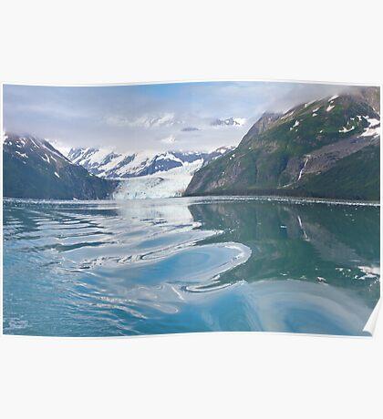 Leaving Alaska's Surprise Glacier Poster