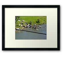 Back to the old Days Framed Print