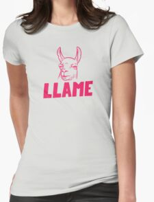 Llame Womens Fitted T-Shirt