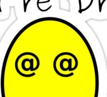Drunk PHP Sticker
