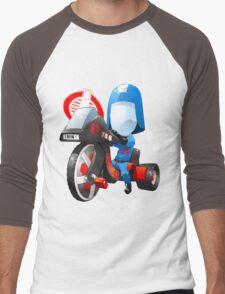 Cobra Commander on 80's big wheel Men's Baseball ¾ T-Shirt