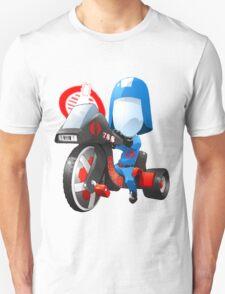 Cobra Commander on 80's big wheel T-Shirt