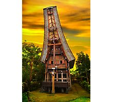 Toraja Architecture, Sulawesi, Indonesia (Please Enlarge) Photographic Print