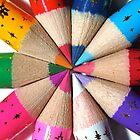 Pencil Crayons by Lizzylocket