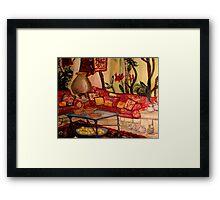 Sierra's Garden Room Framed Print