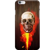 Skull and Flame iPhone Case/Skin