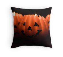 Halloween Lanterns Throw Pillow