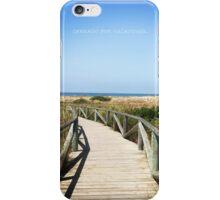 CERRADO POR VACACIONES iPhone Case/Skin