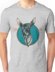 Where Are You Going, Deer? Unisex T-Shirt