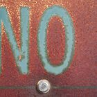 NO by Tama Blough