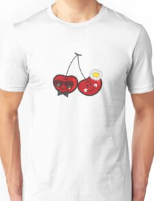 Mr. & Mrs. Cute Cheeky Cherries Unisex T-Shirt