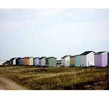 Kent Beach Huts Photographic Print