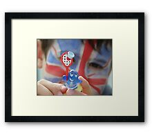 It's a game of support.... Framed Print