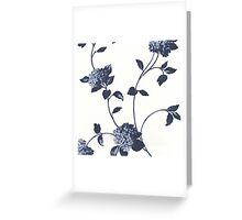 Stunning Purple Floral Greeting Card