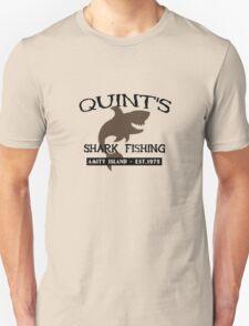 Quints shark fishing funny nerd Unisex T-Shirt