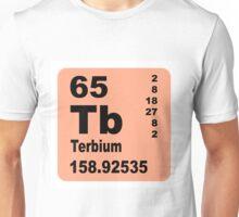 Terbium Periodic Table of Elements Unisex T-Shirt