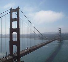 Golden Gate Bridge by Tama Blough