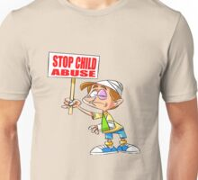 Stop Child Abuse Awareness Unisex T-Shirt