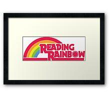 Reading Rainbow shirt – Netflix, LeVar Burton Framed Print