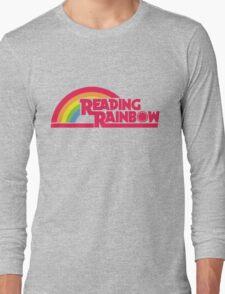 Reading Rainbow shirt – Netflix, LeVar Burton Long Sleeve T-Shirt