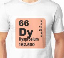 Dysprosium periodic table of elements Unisex T-Shirt