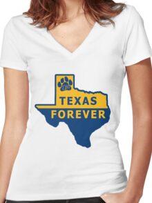 Dillon Texas Forever Women's Fitted V-Neck T-Shirt