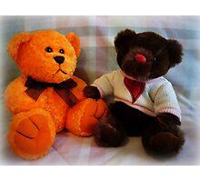 Ernie + Carol Bear Photographic Print