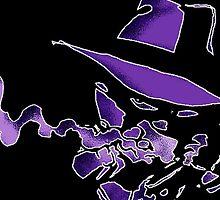 Purple Tracer Bullet by jammin-deen