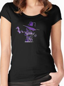Purple Tracer Bullet Women's Fitted Scoop T-Shirt