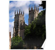 West Towers, York Minster Poster