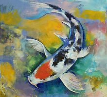 Tancho Sanke Koi by Michael Creese