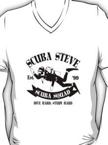 Scuba steve geek funny nerd T-Shirt