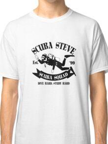 Scuba steve geek funny nerd Classic T-Shirt