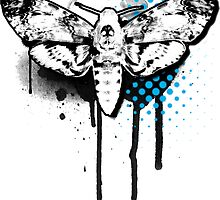 Death Head Moth by Roger Price