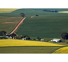 Overberg farmstead Photographic Print