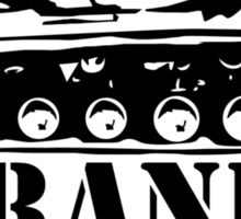Frank The Tank (2) Funny T-Shirt & Hoodies Sticker