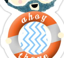 Ahoy Sailor Sticker