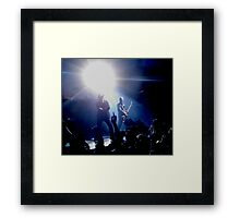 U2 360 Tour - Bono & Adam Clayton Framed Print