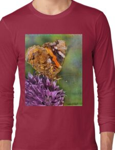 The Red Admiral. Long Sleeve T-Shirt