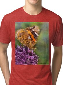 The Red Admiral. Tri-blend T-Shirt