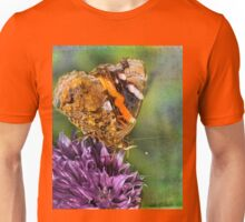 The Red Admiral. Unisex T-Shirt