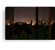 Colours at night...#1 Canvas Print