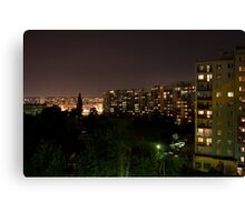 Colours at night...#2 Canvas Print