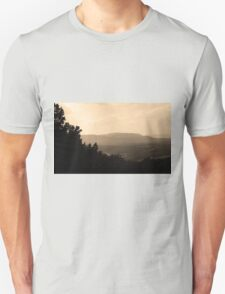 Blue Ridge Mountains, Virginia Unisex T-Shirt