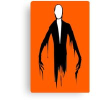 Slenderman slender man creepypasta geek funny nerd Canvas Print