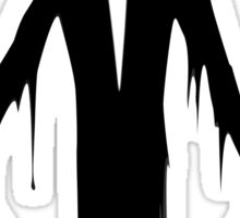 Slenderman slender man creepypasta geek funny nerd Sticker